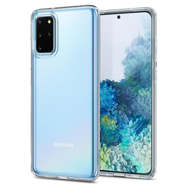 Spigen: Liquid Crystal Case for Samsung Galaxy S20+ - Crystal Clear