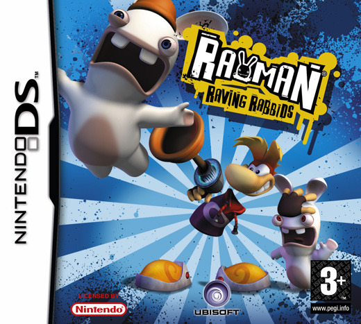 Rayman: Raving Rabbids for Nintendo DS