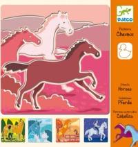 Djeco: Design - Horse Stencils