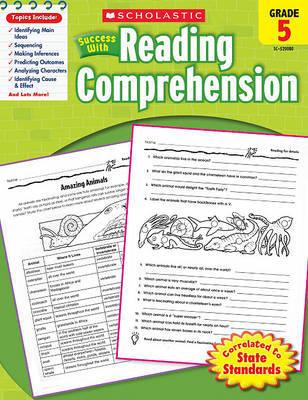 Scholastic Success with Reading Comprehension, Grade 5 by Linda Van Vickle