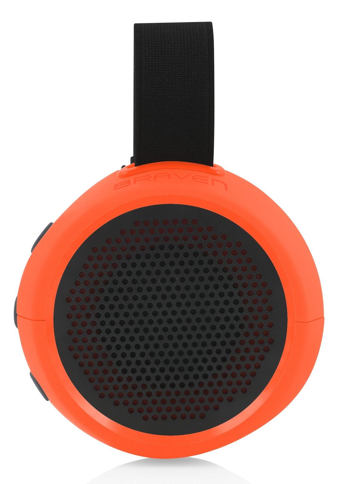 Braven 105 HD Wireless Bluetooth Speaker Waterproof With Action Mount Black NEW