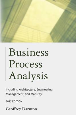 Business Process Analysis by Geoffrey Darnton