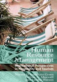 Human Resource Management by Norma D'Annunzio-Green image