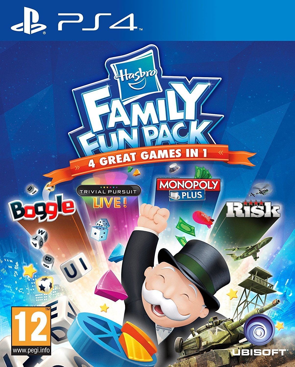 Hasbro Family Fun Pack Compilation for PS4 image