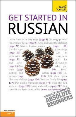 Get Started in Beginner's Russian: Teach Yourself by Rachel Farmer image