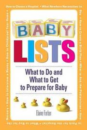 Baby Lists by Elaine Farber