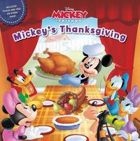 Mickey & Friends Mickey's Thanksgiving by Disney Book Group