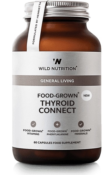 Wild Nutrition Food Grown Thyroid Connect (60 Caps)
