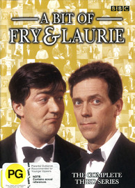 Bit Of Fry And Laurie, A - Complete Series 3 on DVD image
