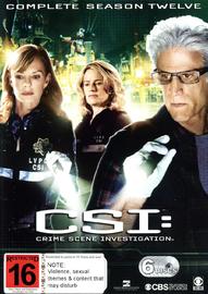 CSI - Season 12 on DVD