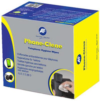 AF Phone-Clene anti-bacterial phone wipes box