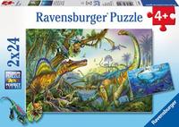 Ravensburger Primeval Giants Puzzle (2 x 24pc)