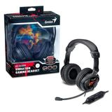 Genius HS-G500V Overhead Gaming Headset with Vibration for PC Games