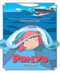 Ponyo Picture Book by Hayao Miyazaki