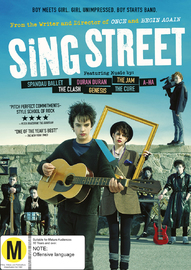 Sing Street on DVD