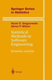 Statistical Methods in Software Engineering by Nozer D Singpurwalla