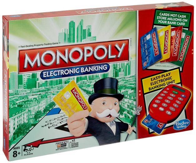 Monopoly Electronic Banking Game Toy At Mighty Ape Nz