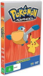 Pokemon - Advanced 6.6: Taming Of The Shroomish on DVD