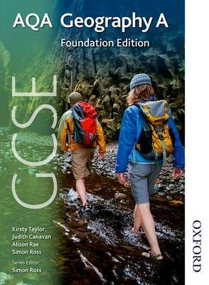 GCSE AQA Geography A Foundation Edition by Simon Ross image