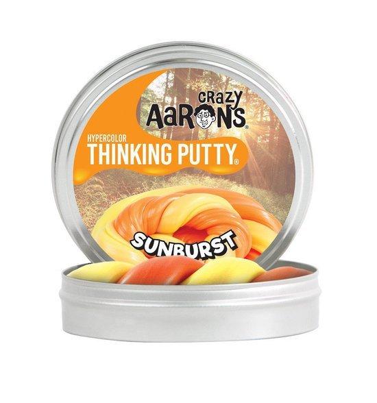 Crazy Aarons Thinking Putty: Sunburst - Mini Tin