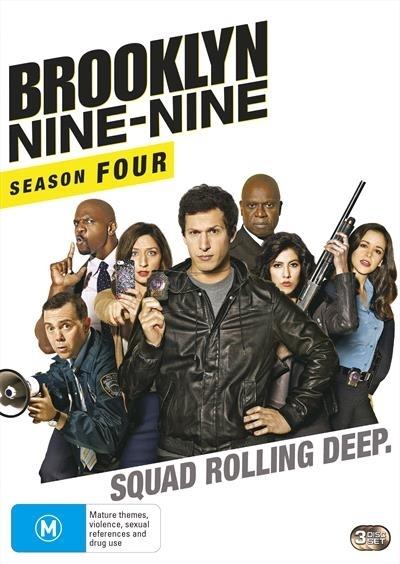 Brooklyn Nine-Nine - Season 4 on DVD image
