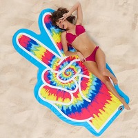 BigMouth: Gigantic Beach Blanket - Peace Fingers