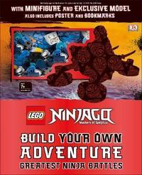 LEGO NINJAGO Build Your Own Adventure Greatest Ninja Battles by DK