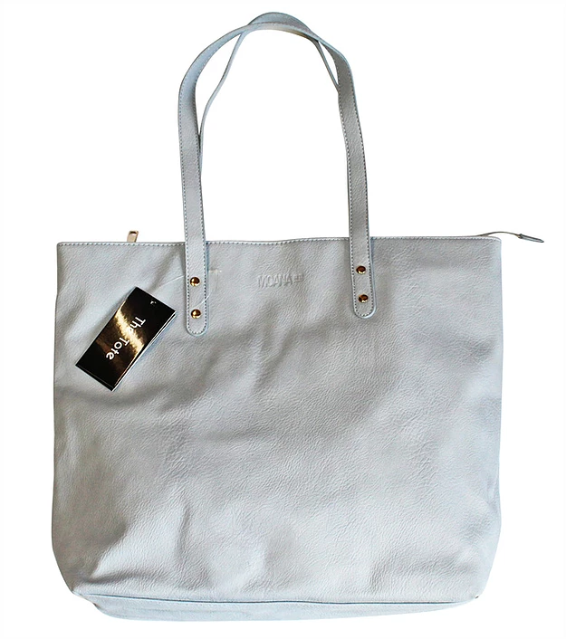 Moana Rd: Khandallah Tote Bag - Grey