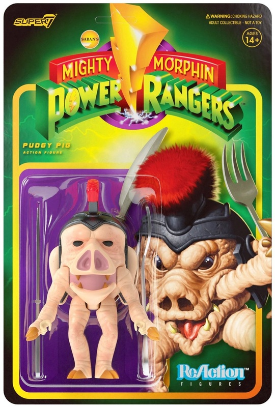 Mighty Morphin Power Rangers: Pudgy Pig - ReAction Figure