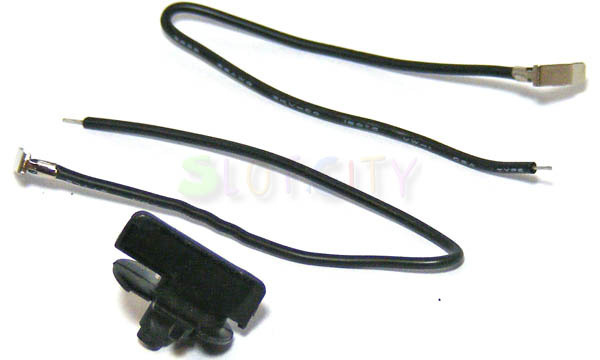 Scalextric Round Guide Blade and Wires for 1/32 Slot Cars