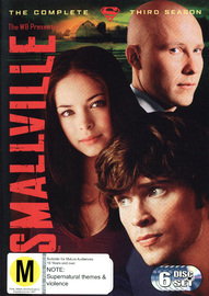 Smallville - The Complete 3rd Season (6 Disc Set) on DVD image