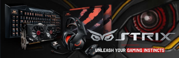 Asus Strix and more in Gaming Gear!