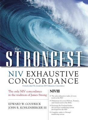 The Strongest NIV Exhaustive Concordance by Edward W. Goodrick image
