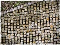 DeepCut Studio Cobblestone Streets Neoprene Mat (6x4) image