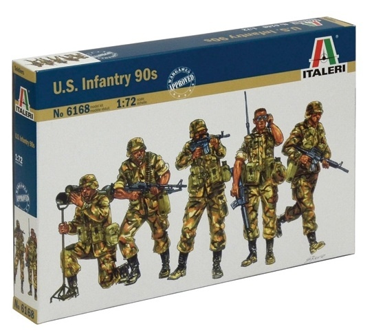 Italeri: 1:72 Modern US Soldiers - Model Kit