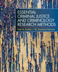 Essential Criminal Justice and Criminology Research Methods by Peter B Kraska image