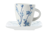Maxwell & Williams: Oriental Blossom Cup & Saucer (200ml)