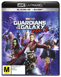 Guardians of the Galaxy Vol. 2 on Blu-ray, UHD Blu-ray