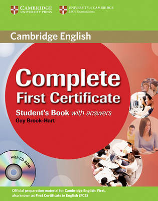 Complete First Certificate Student's Book with Answers with CD-ROM by Guy Brook-Hart image