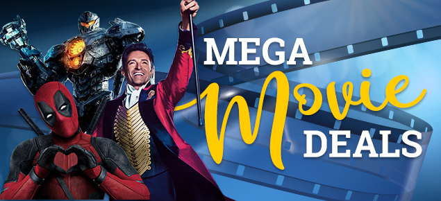 Mega Movie Deals! Up to 40% off!