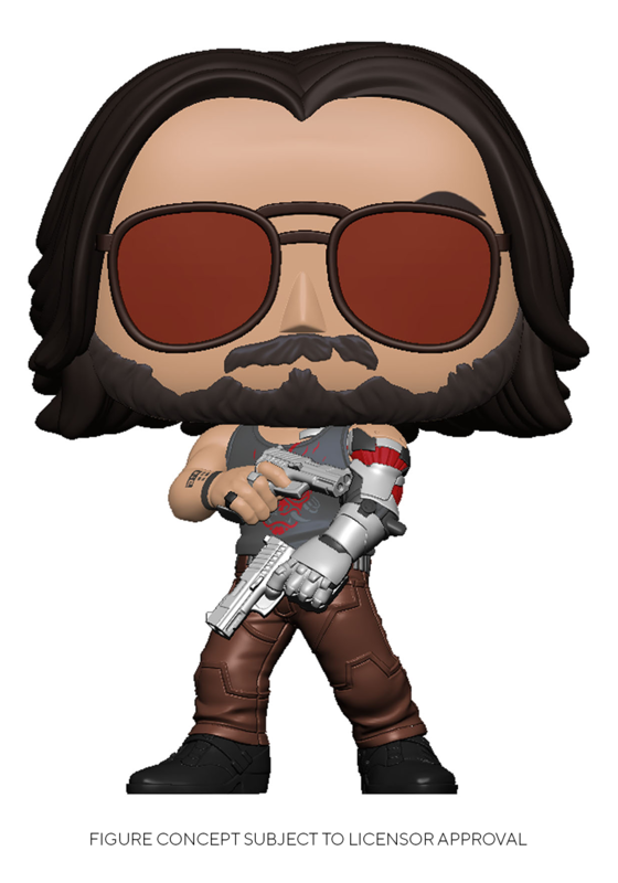 Cyberpunk 2077: Johnny Silverhand (with Guns) - Pop! Vinyl Figure
