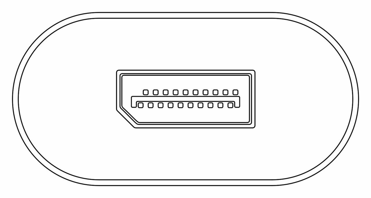 Goobay: USB-C to DisplayPort Adapter - Black image
