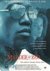 Murder at 1600 on DVD
