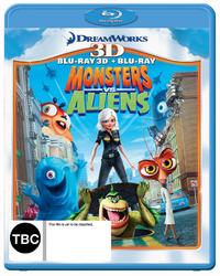 Monsters vs Aliens - 3D Combo on Blu-ray, 3D Blu-ray