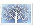 Tree of Life Laser Cut Note Cards (10 Cards/Envelopes)