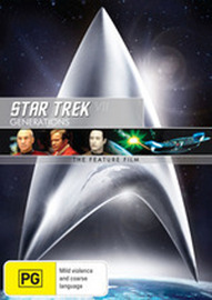 Star Trek VII: Generations on DVD image