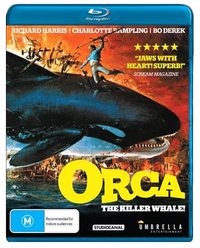 Orca: The Killer Whale on Blu-ray