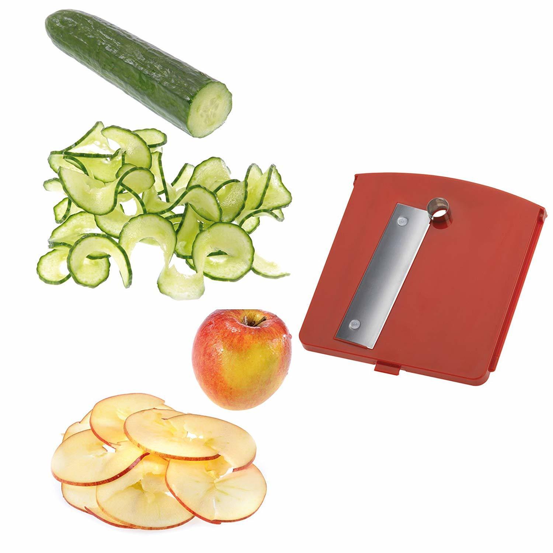 Stainless Steel Tri-Blade Vegetable Spiralizer image