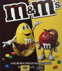M&M'S Mixed Large Easter Egg (268g)