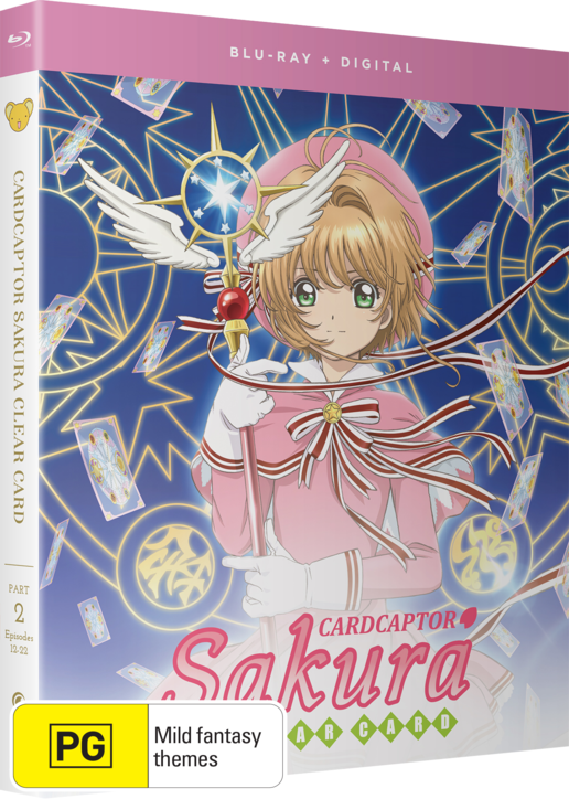 Cardcaptor Sakura: Clear Card - Part 2 on Blu-ray